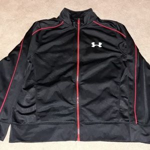 Under armour youth large full zip up great shape